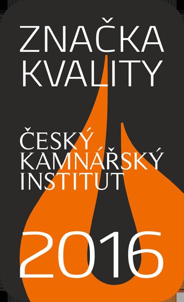Značka kvality 2016 Český kamnářský institut